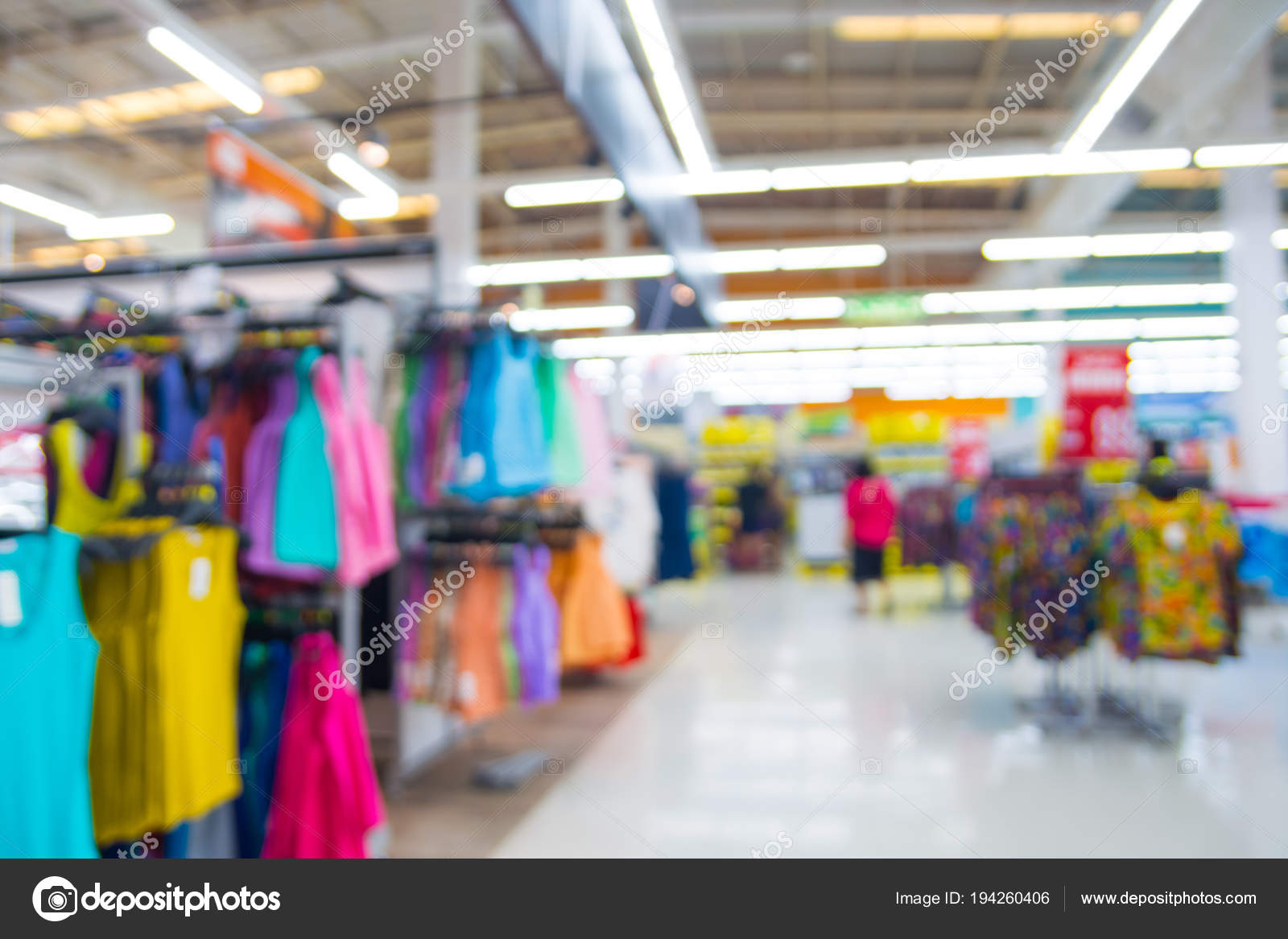 d27df744 Abstract Blur Defocus Background People Shopping Department Store Men Wear  — Stock Photo
