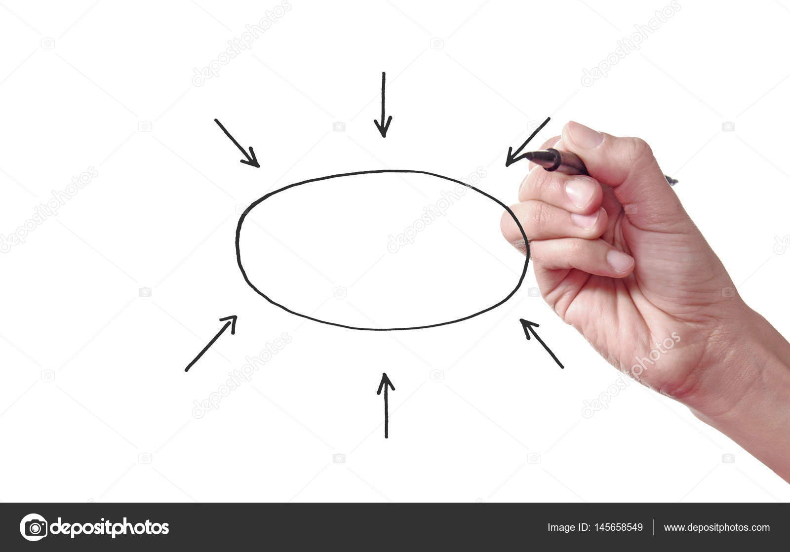 Empty flow chart diagram stock photo nupix 145658549 blank flow chart being sketched photo by nupix nvjuhfo Gallery
