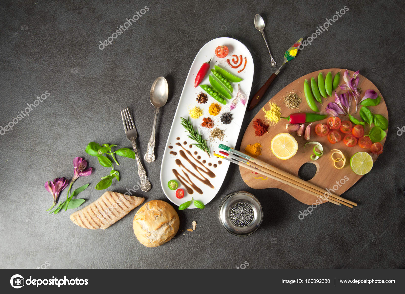 Food creativity concept — Stock Photo © nupix #160092330