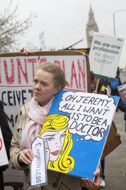 Junior Doctors Strike in London