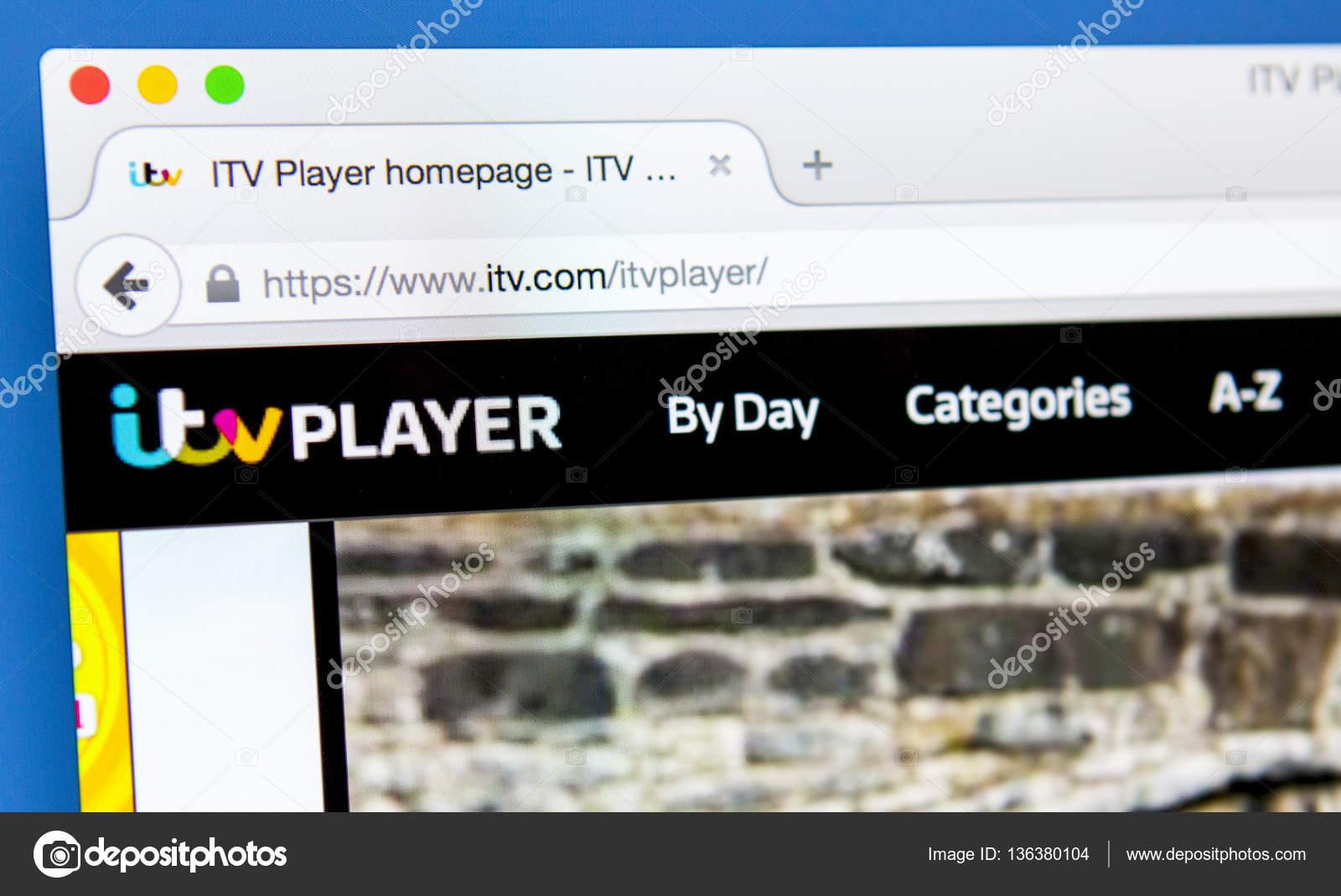 ITV Player Website – Stock Editorial Photo © chrisdorney #136380104