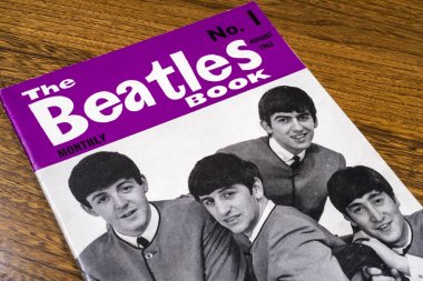 First Issue of the Beatles Monthly Book 1963