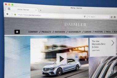 Daimler AG Website
