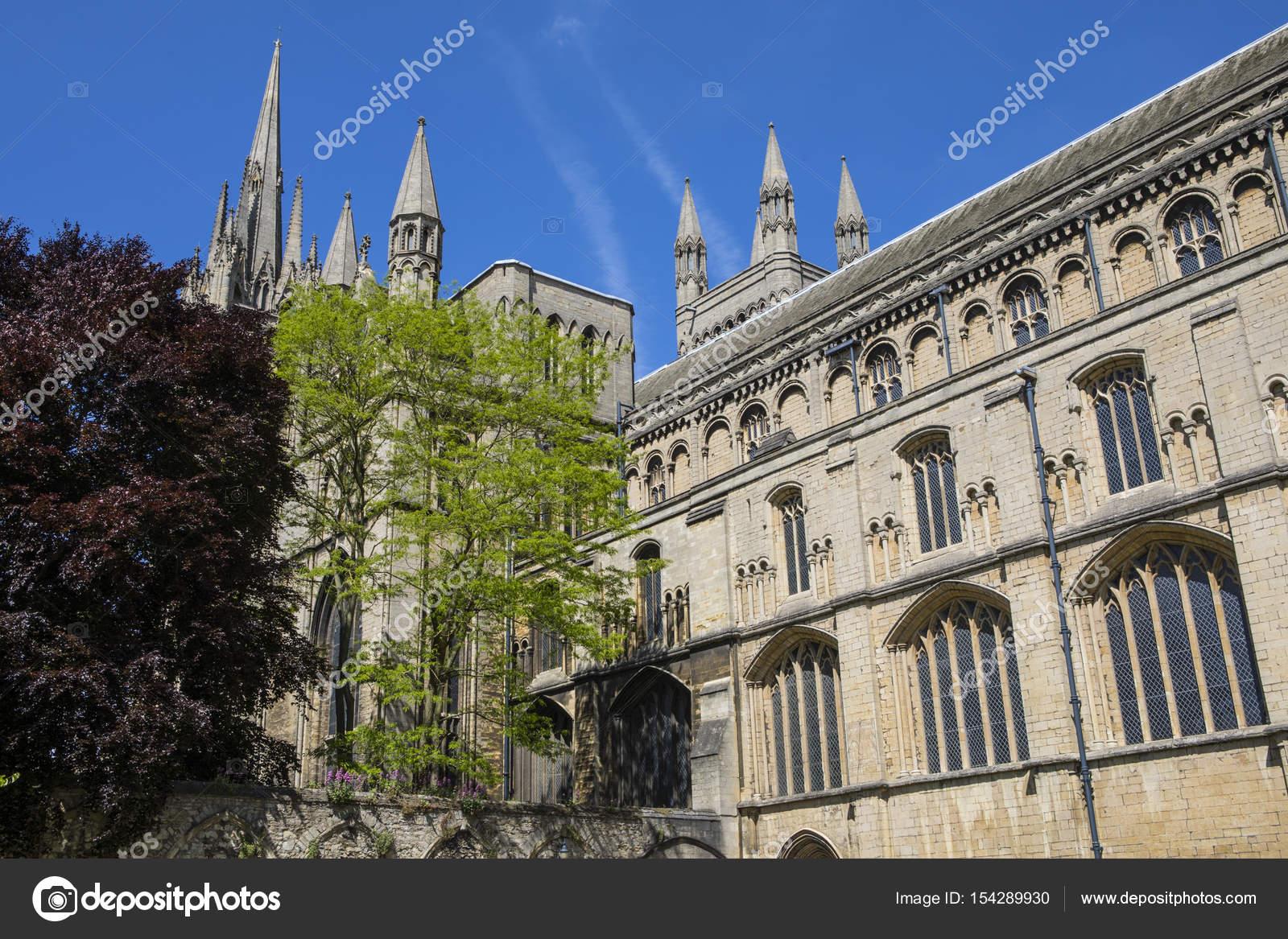 イギリスのピーターバラ大聖堂 —...