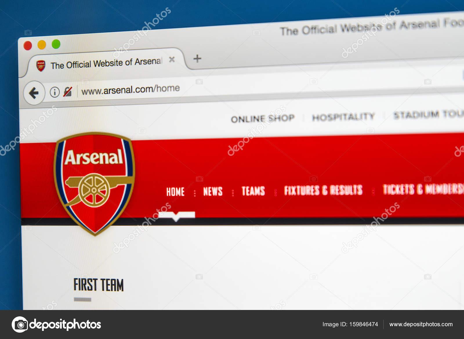 Сайт футболного клуба арсенал лондон