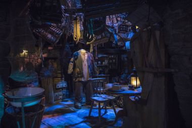 Hagrids Hut at the Making of Harry Potter Tour