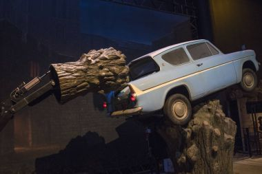 Whomping Willow at the Making of Harry Potter Tour