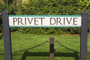 Privet Drive Street Sign