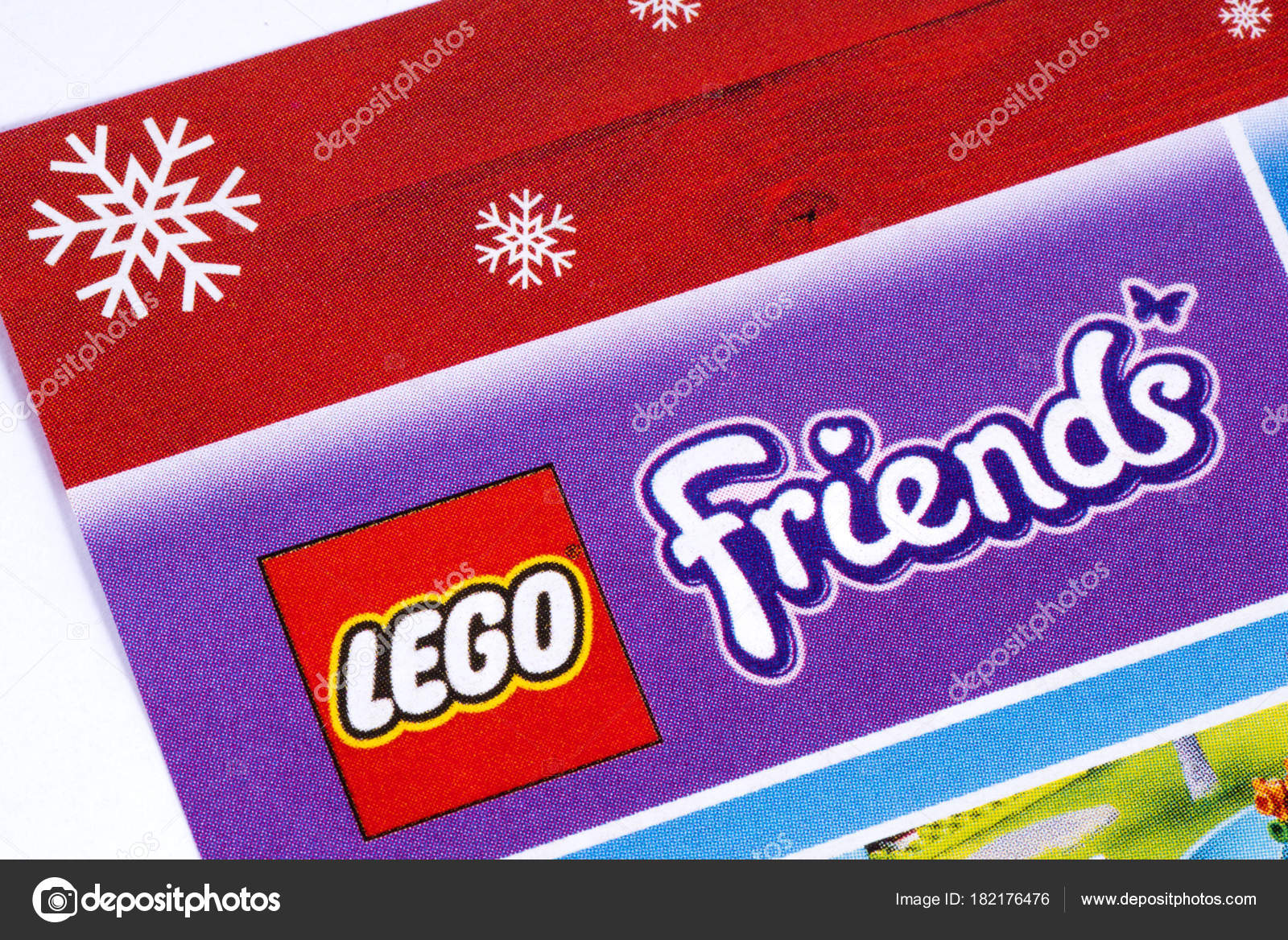 Lego Friends Logo in a Catalogue – Stock Editorial Photo