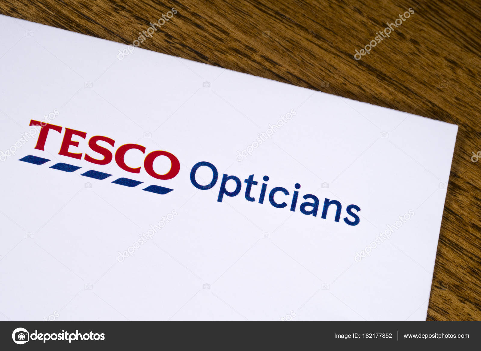 Tesco Opticians Logo – Stock Editorial Photo © chrisdorney