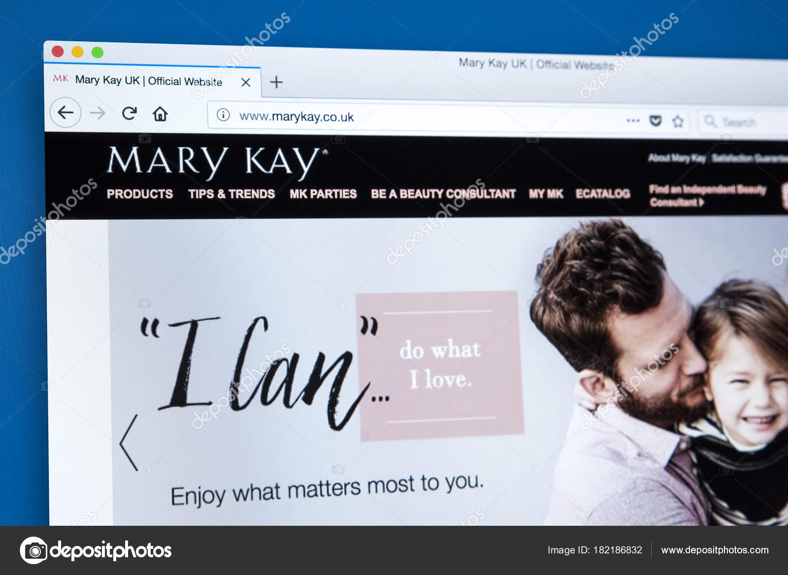 Sitio Web De Mary Kay Inc Foto Editorial De Stock Chrisdorney