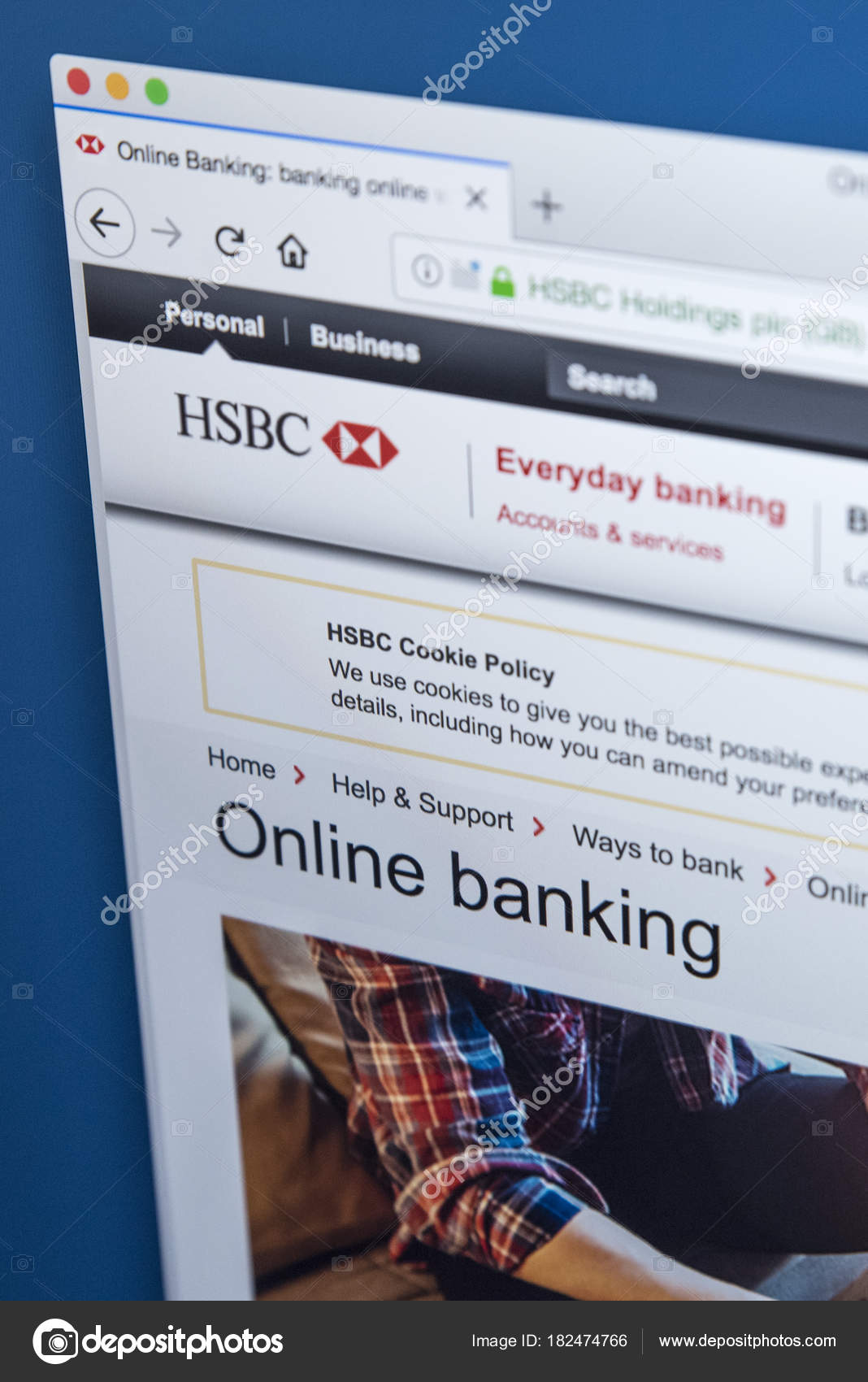 HSBC Online Banking – Stock Editorial Photo © chrisdorney