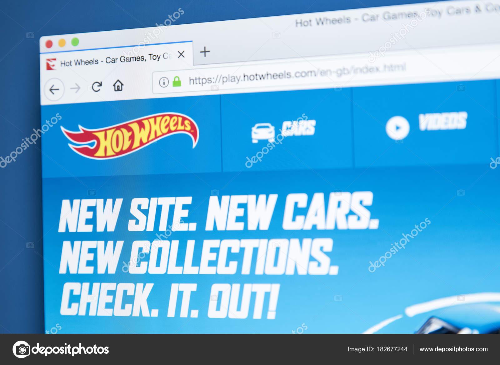 Hot Wheels Website Stock Editorial Photo C Chrisdorney 182677244