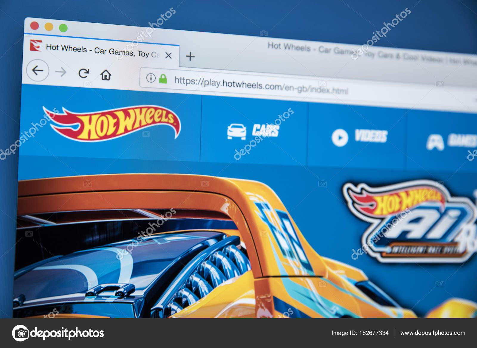 Hot Wheels Website Stock Editorial Photo C Chrisdorney 182677334