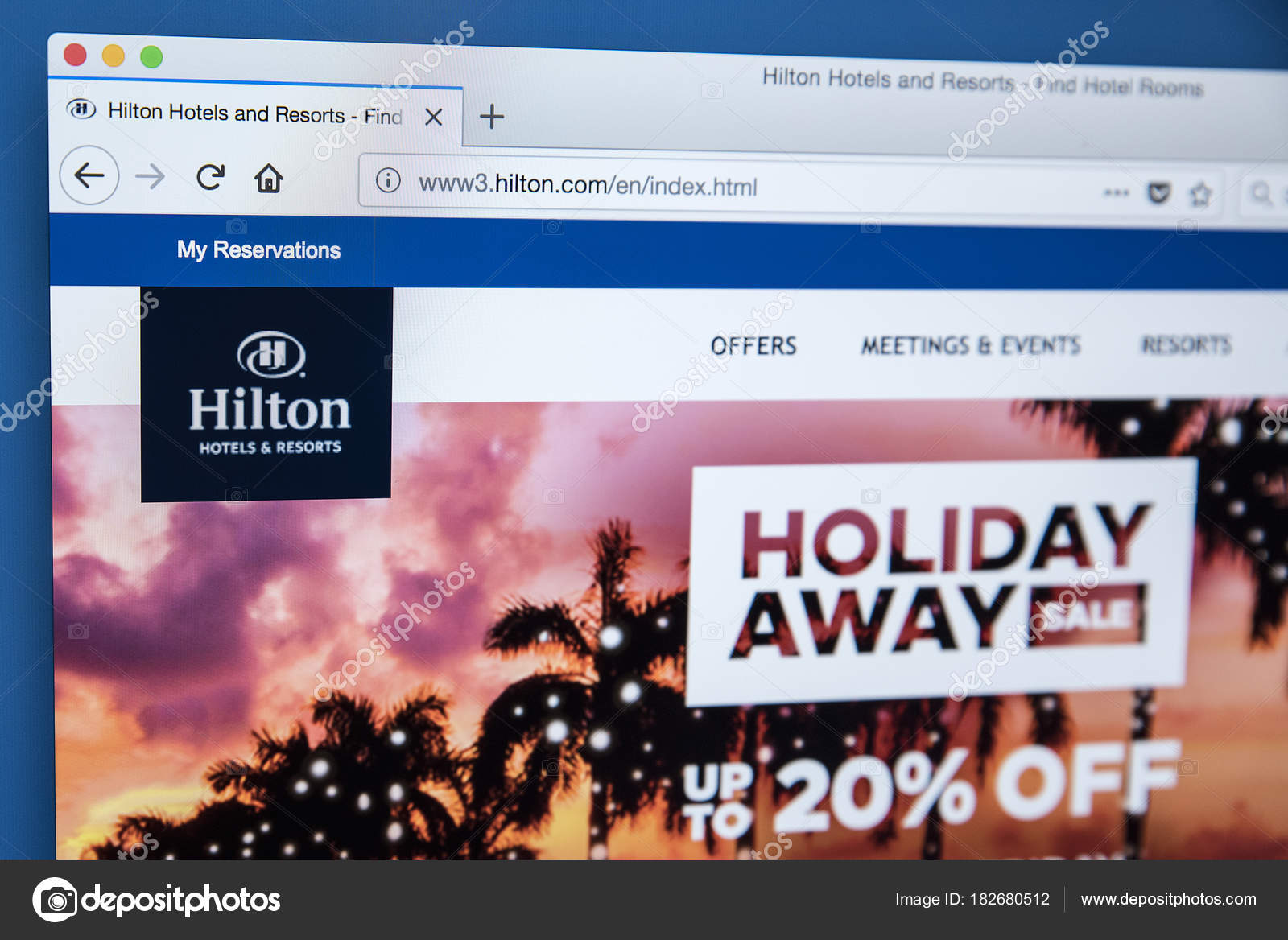 Hilton Hotels And Resorts Stock Editorial Photo C Chrisdorney