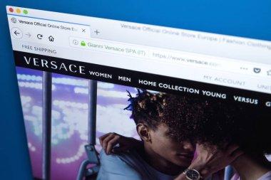 Versace Website