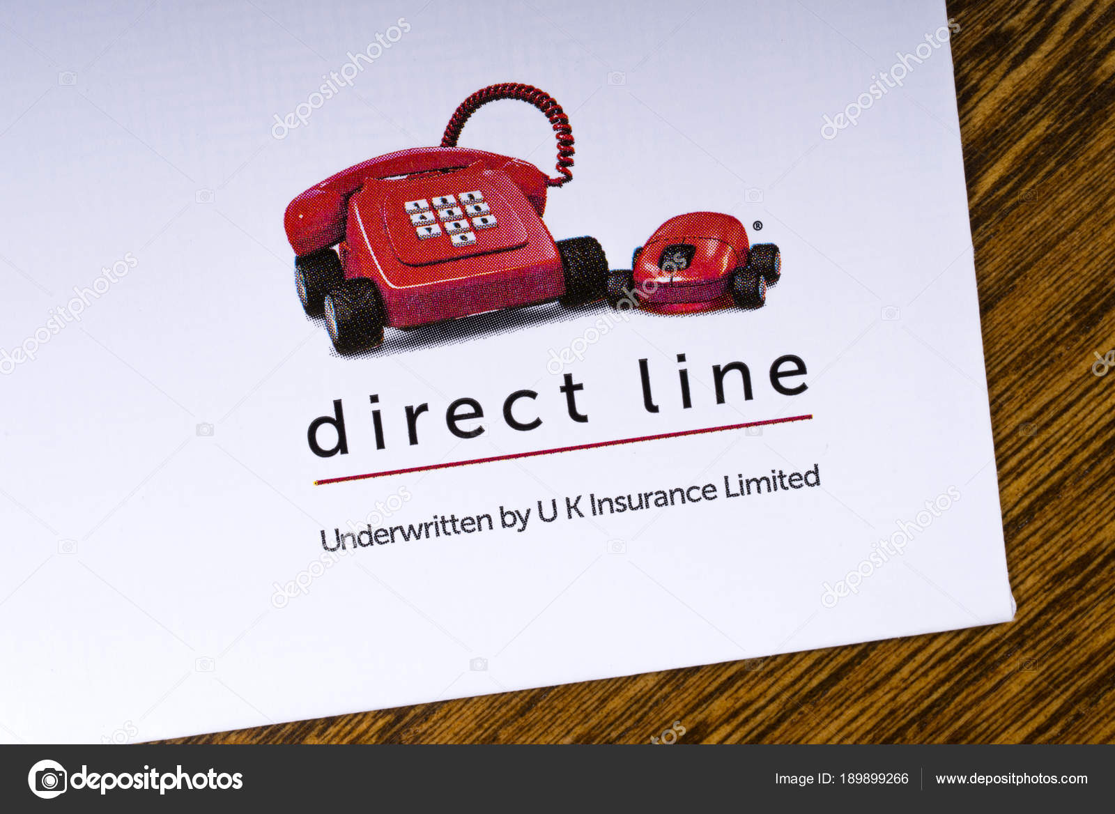 Direct Line Logo Stock Editorial Photo C Chrisdorney 189899266