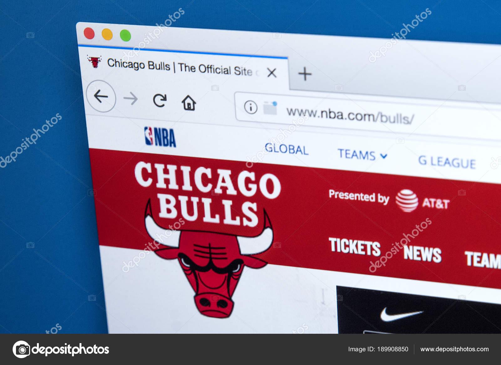 Chicago Bulls Website – Stock Editorial Photo © chrisdorney  189908850 2652470cdb4