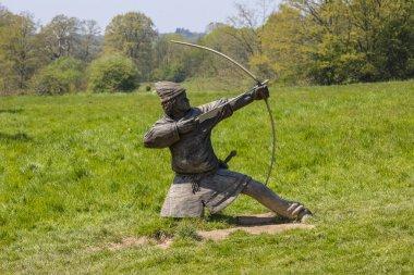 Norman Archer Sculpture at Battle Abbey