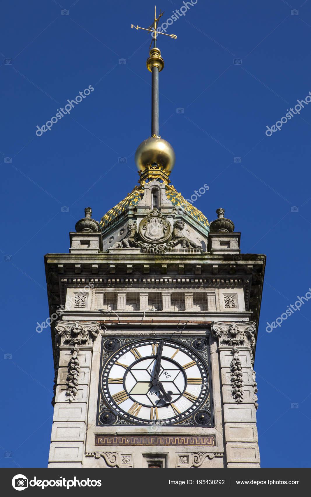Torre En Foto — Reloj Del Chrisdorney195430292 Brighton De Stock © dCoxtshBQr