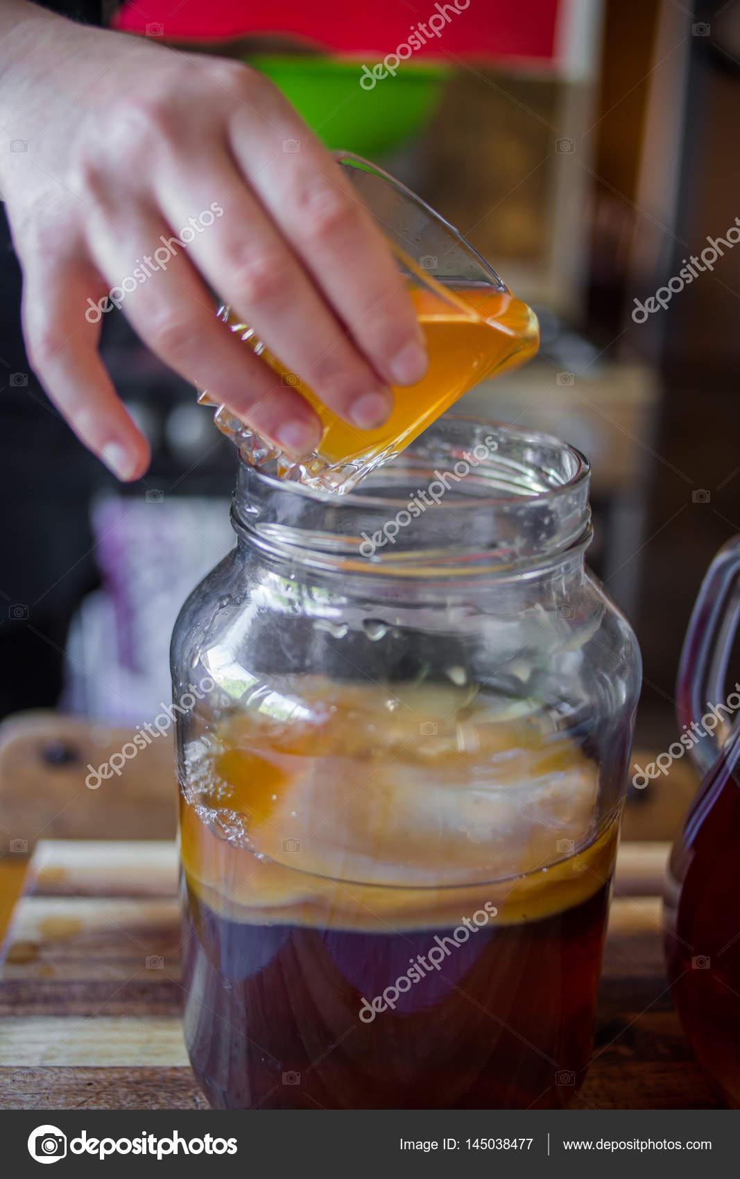Гриб из чая как сделать 241