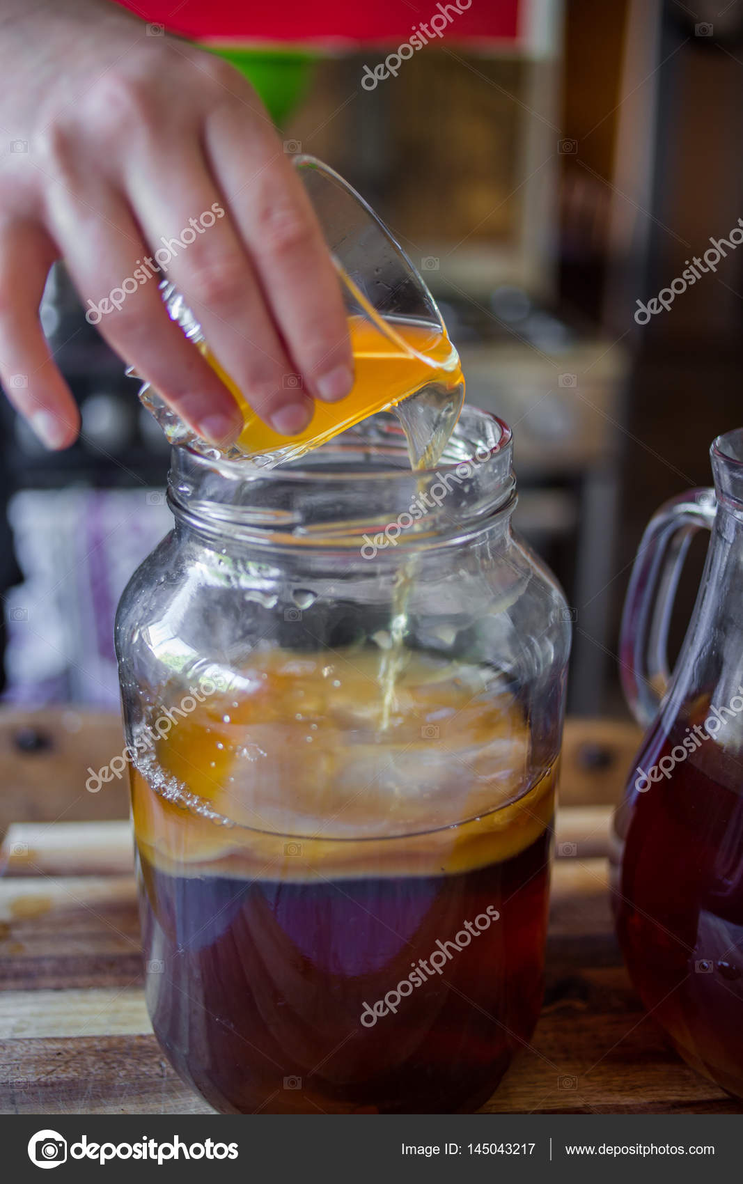 Гриб из чая как сделать 626