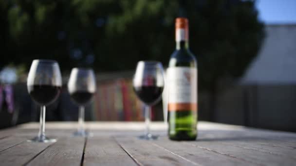 Wein im Glas