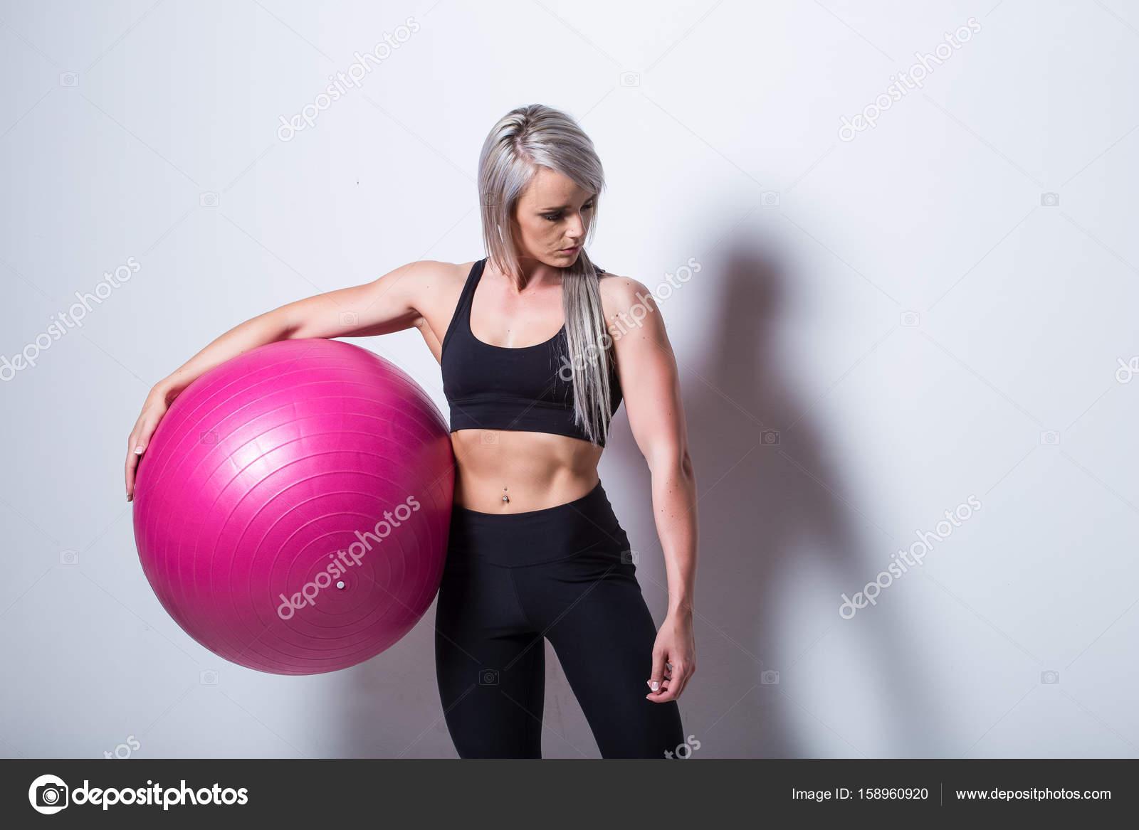 Фитнес мяч для секса