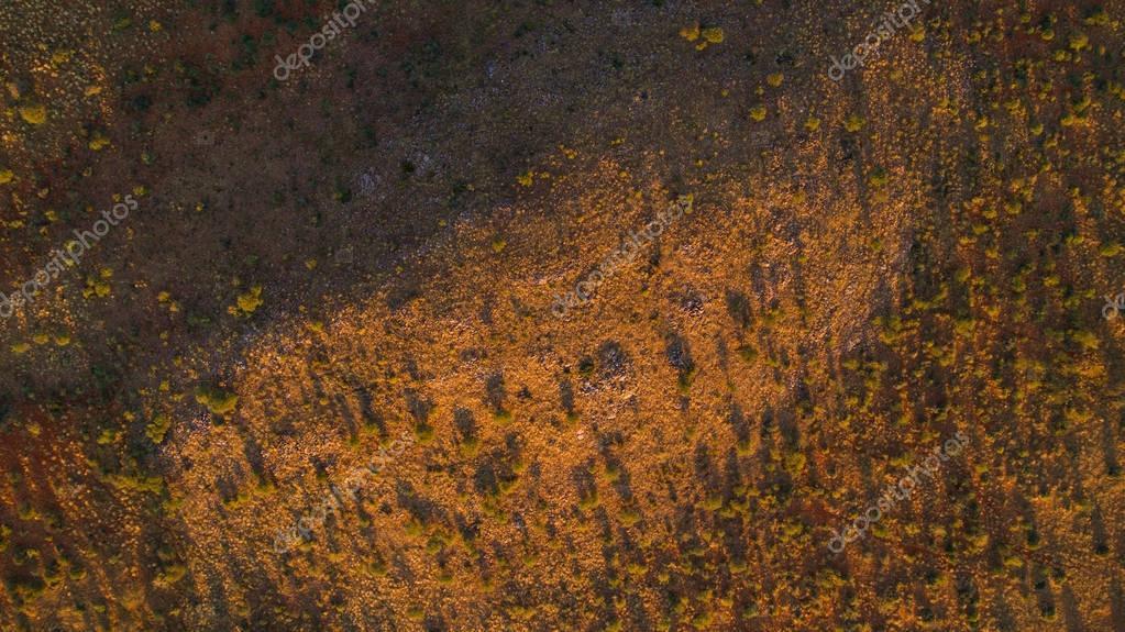 Aerial views over the Kalahari