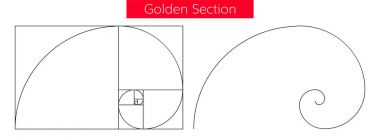 golden section vector