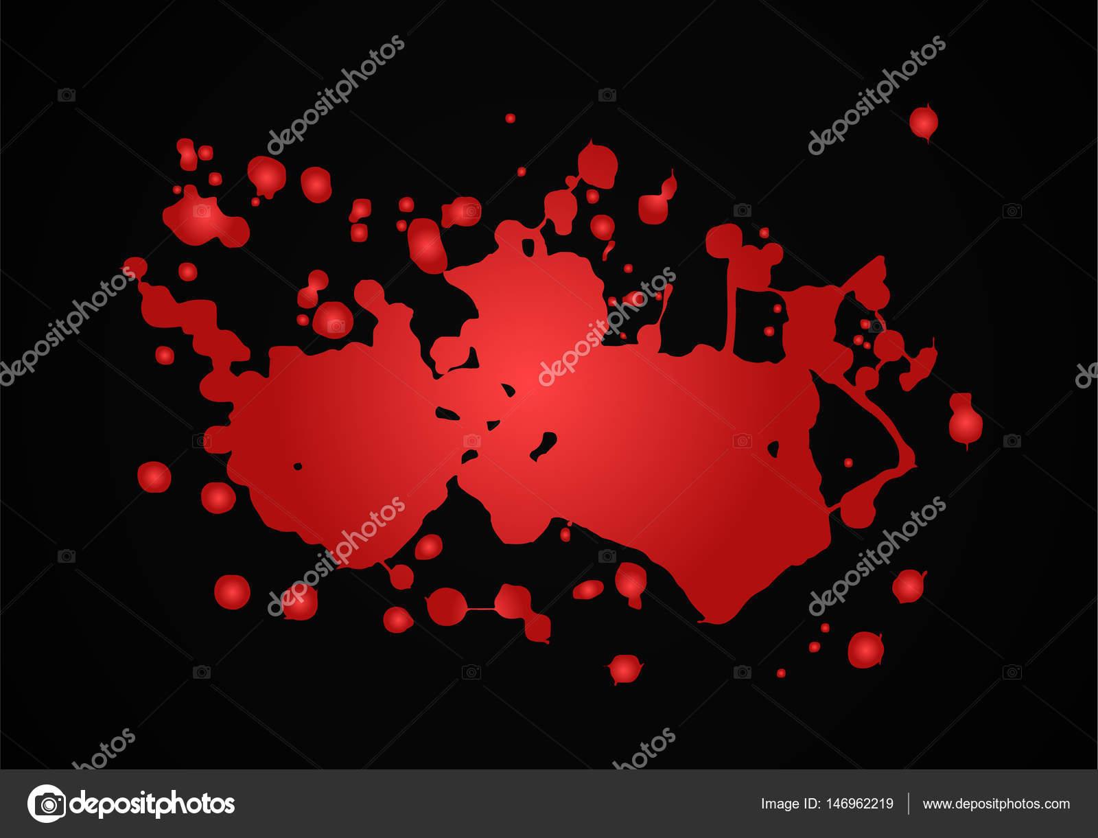 血しぶきのベクトル イラスト赤 ストックベクター Dezidezi 146962219