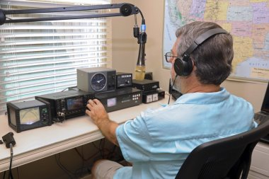 Amatuer Ham Radio Operater