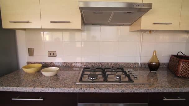 Interiér domu kuchyně