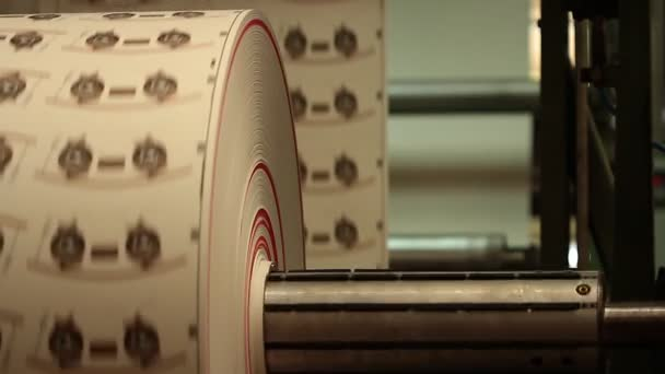 role vytištěných štítků