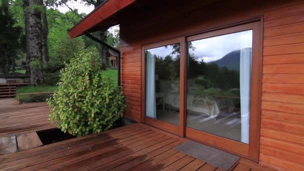 Vnější země domu veranda