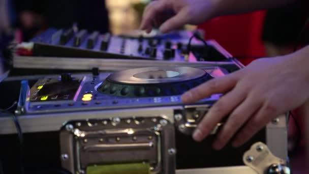DJ party dolgozik