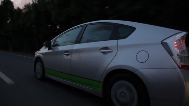 Auto na dálnici město