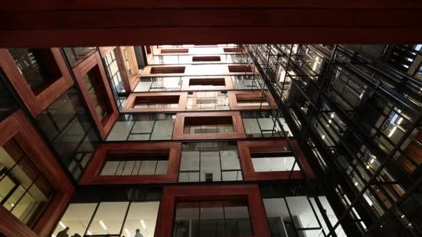 Interiér budovy patio