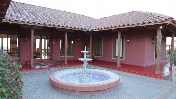 Brunnen in spanischen villa
