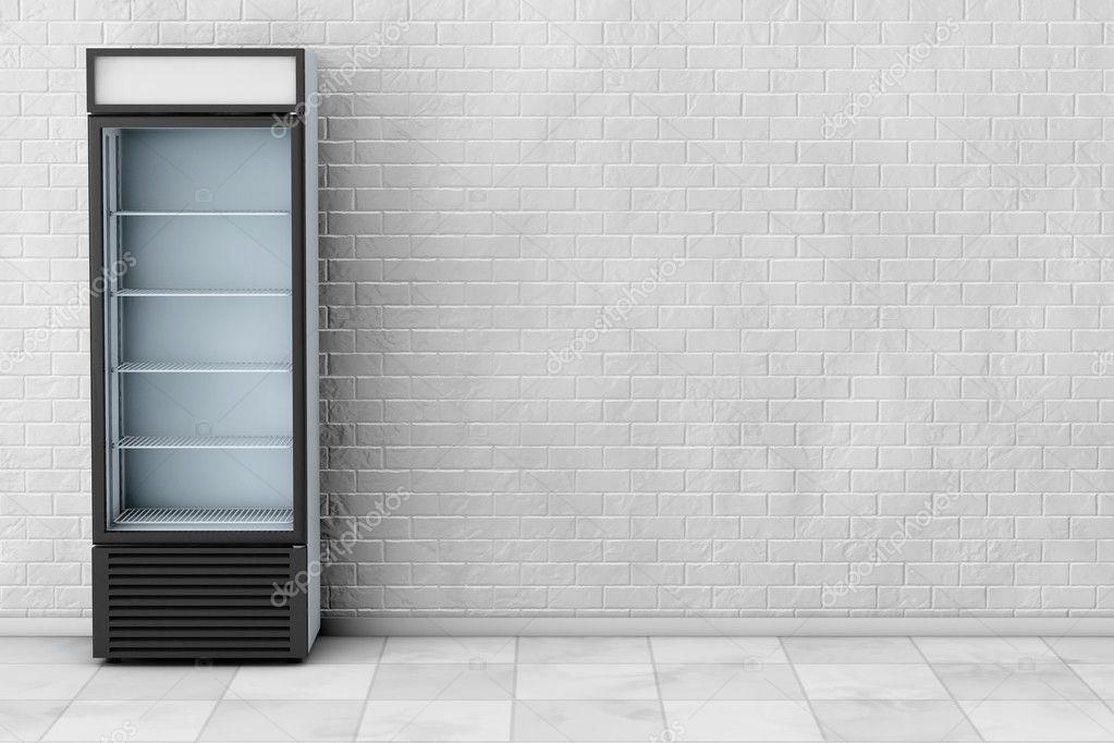 Kühlschrank Glastür : Kühlschrank mit glastür trinken. 3d rendering u2014 stockfoto © doomu