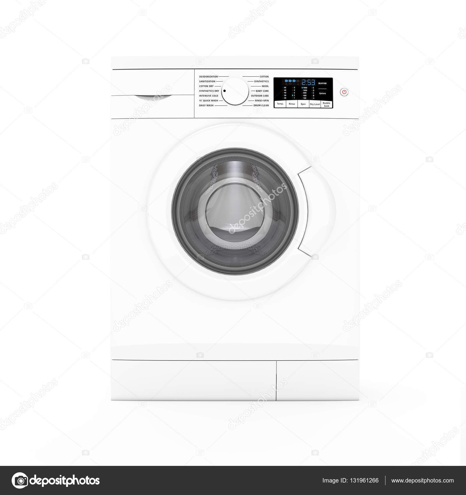 Moderne Waschmaschine moderne waschmaschine 3d rendering stockfoto doomu 131961266
