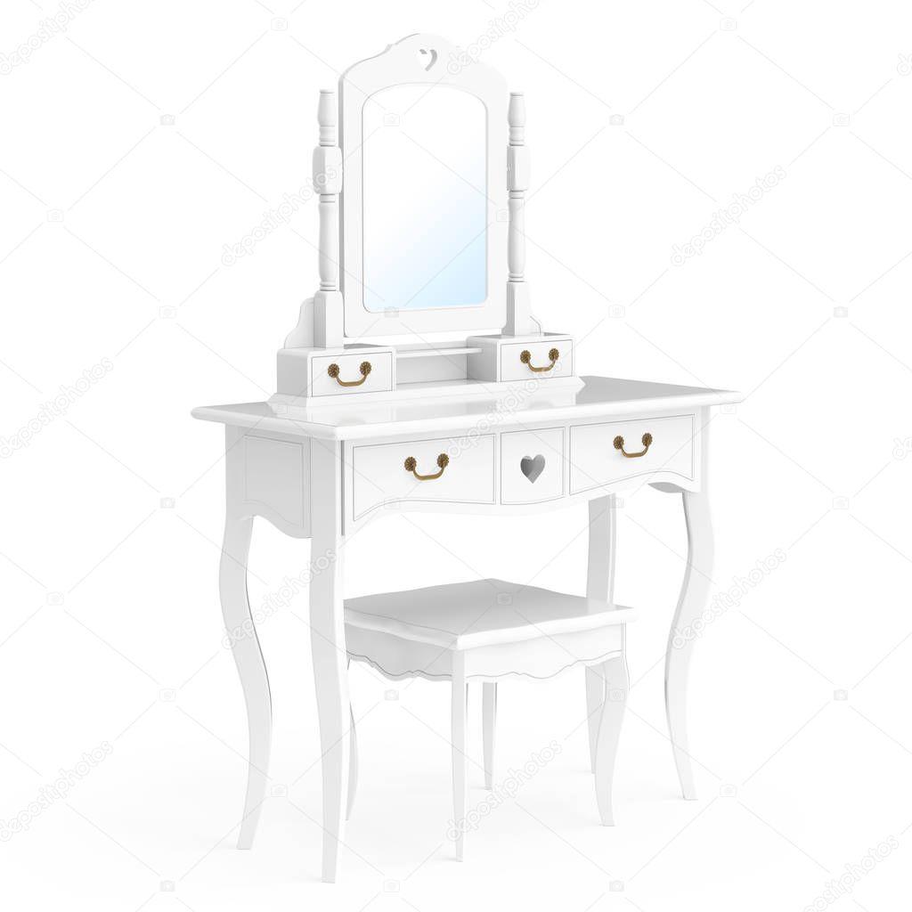 Antique bedroom vanity with mirror | Antique Bedroom Vanity ...