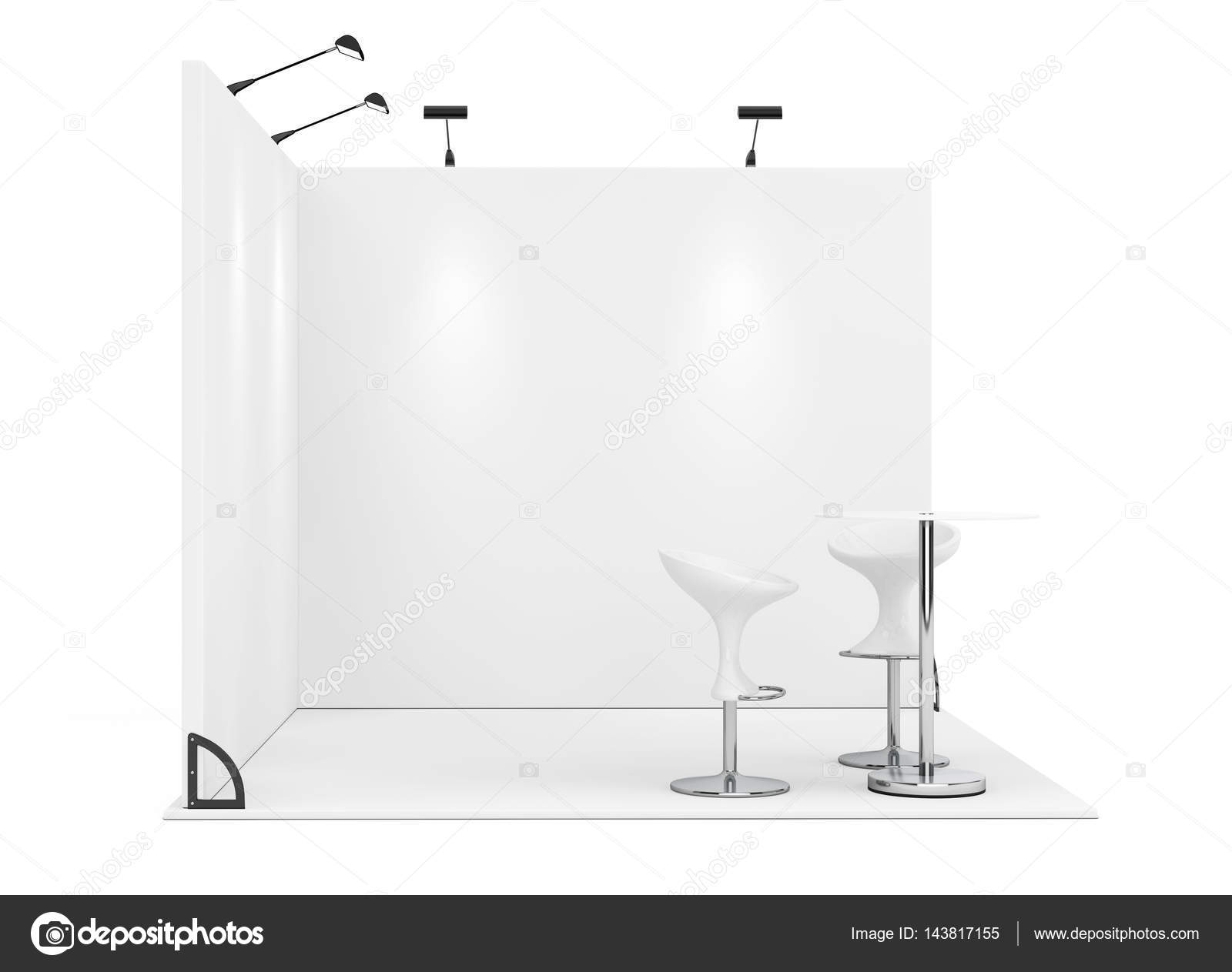 D Exhibition Stand Free Download : Trade commercial exhibition stand. 3d rendering u2014 stock photo