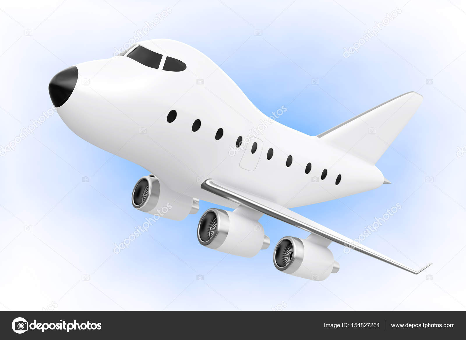 Fotografie: jet aereo cartoni dei cartoni animati giocattolo