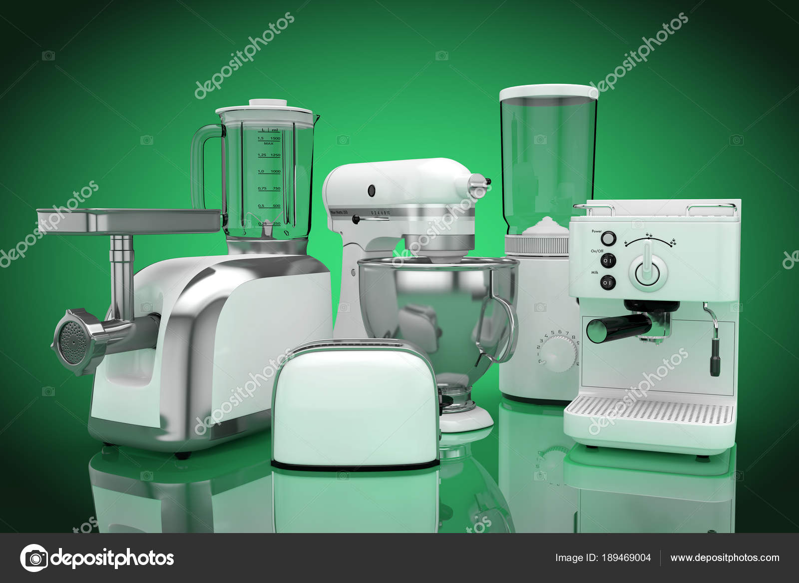 Conjunto De Utens Lios De Cozinha Branco De Liquidificador