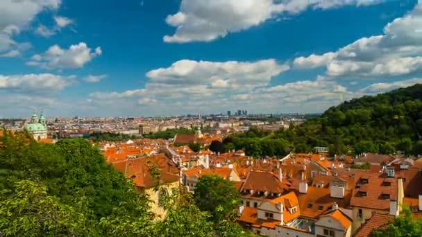 Sunny pohled z Pražského hradu