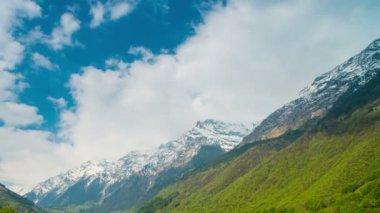 Alpine landscape from Switzerland