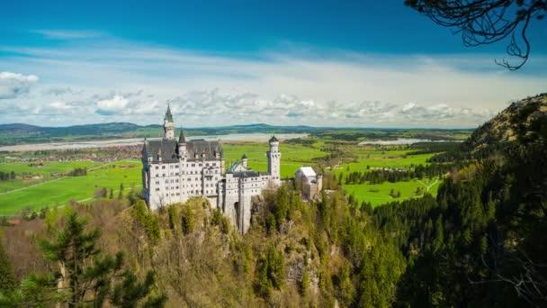 Blick auf das Schloss Neuschwanstein, Deutschland