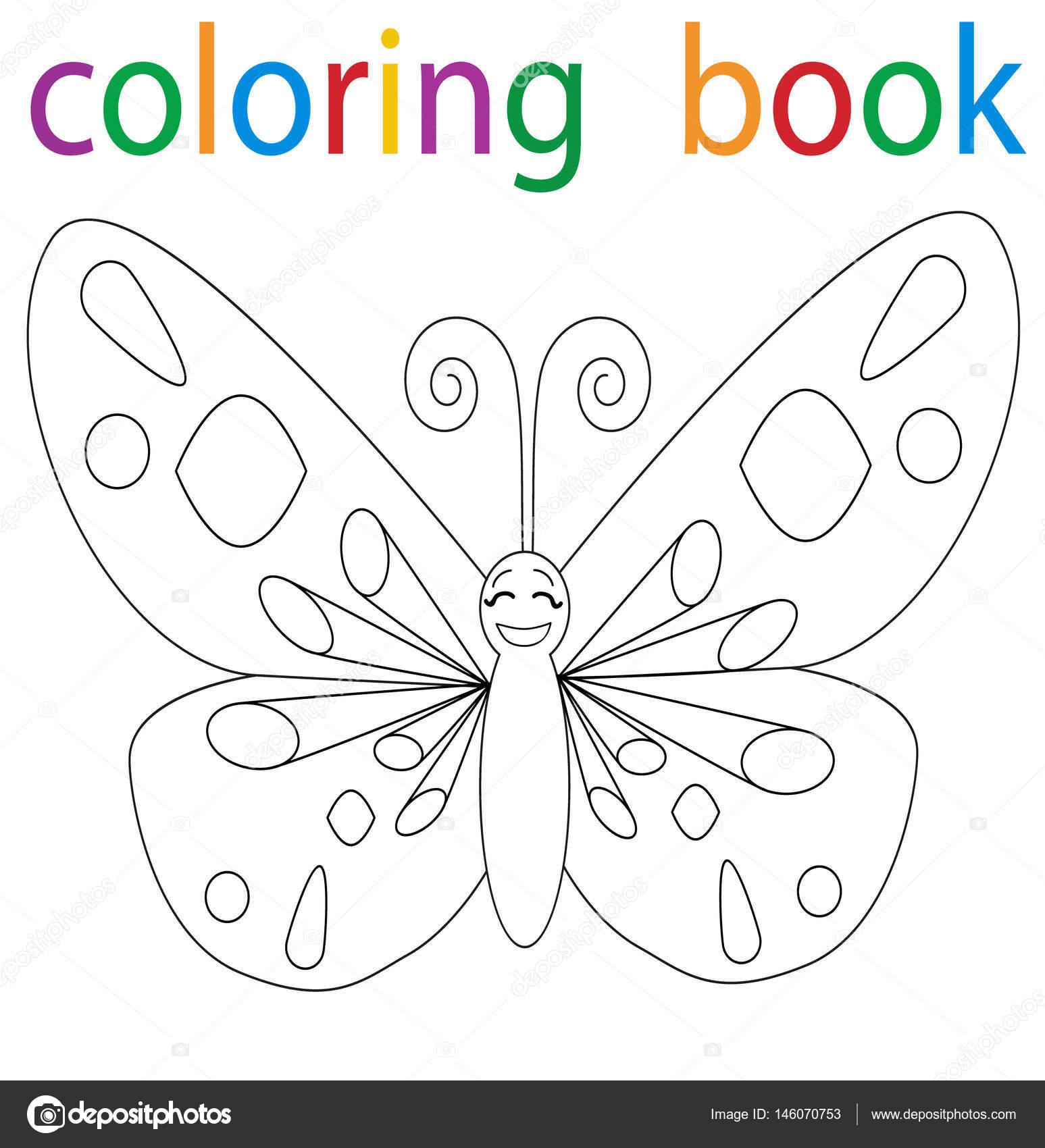 Imágenes Mariposa Animada Para Colorear Libro Para Colorear