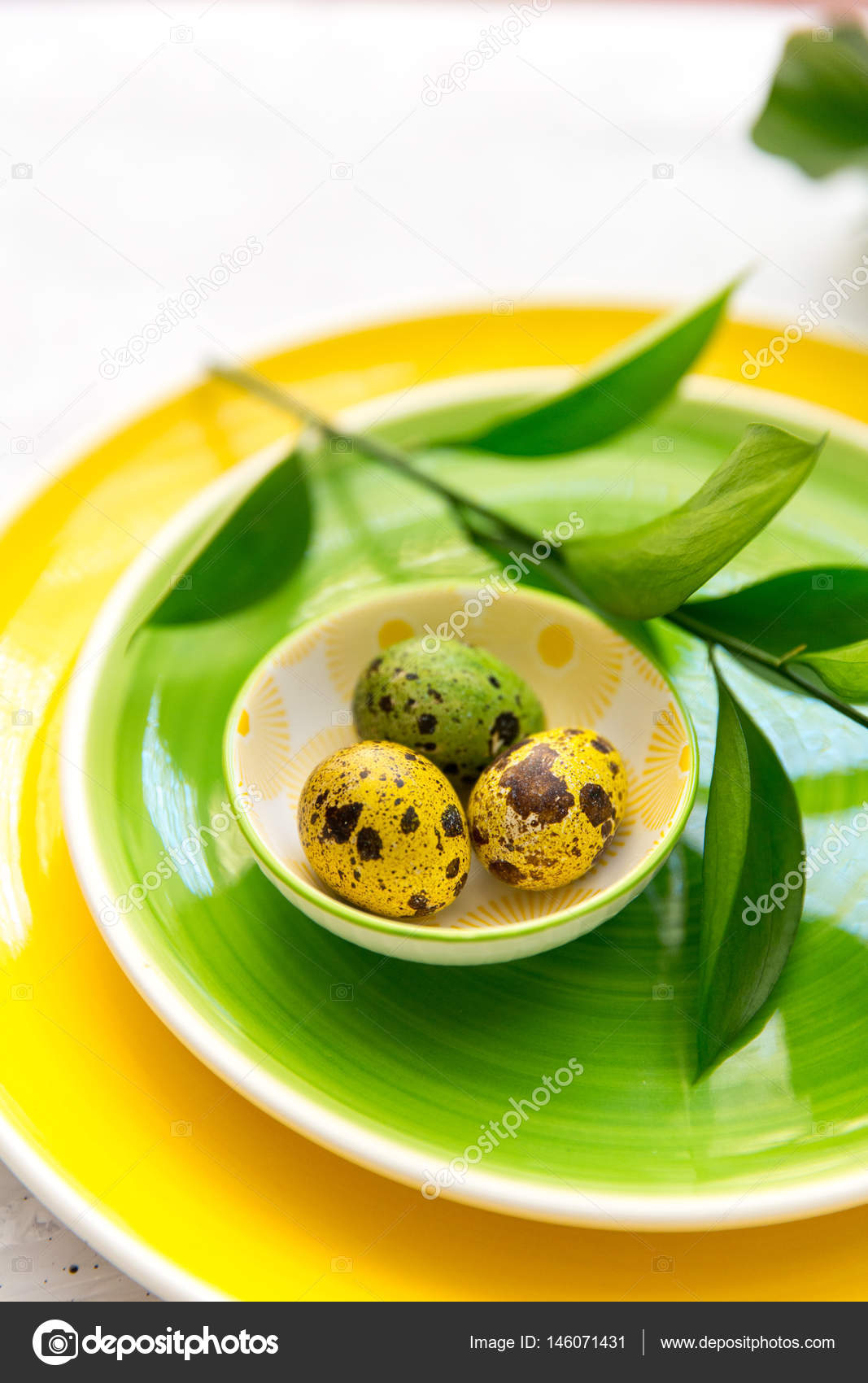 Wondrous Easter Table Decoration On Light Background Festive Table Home Remodeling Inspirations Genioncuboardxyz